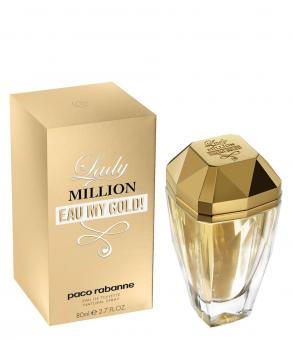 Paco Rabanne Lady Million Eau My Gold! EDT 80 ml