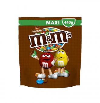 M&M's Maxi pouch choco 440g