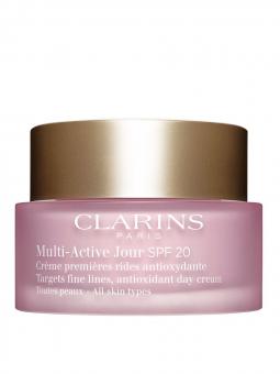 Clarins Multi Active Day Cream All Skin Types SPF 20 50 ml
