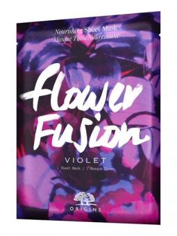 Origins Masks Sheet Mask Flower Fusion Violet 34 g