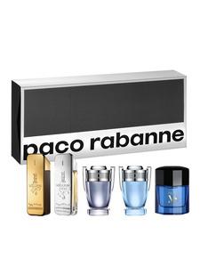 Paco Rabanne Coffret Coffret cont.: 1 Million Edt 5 ml + 1 Million Lucky 5 ml + Invictus 5 ml + Invictus Aqua 5 ml + Pure XS