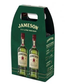Jameson ***  40% 2x1L