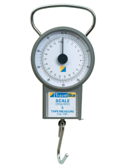 Travel Blue, scale