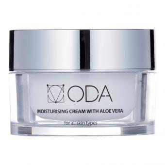 ODA Moisturizing Cream With Aloe Vera&Hyaluron 50 ml