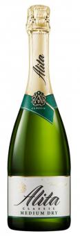 Alita sparkling wine, semi dry, 11%, 0.75l
