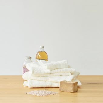 Linen Tales waffle towel